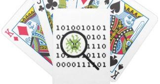 Virus in poker hulp apps toont kaarten van spelers