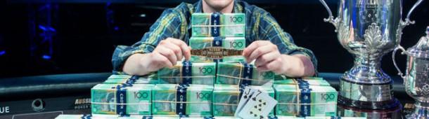 Ari Engel wint Main Event Aussie Millions